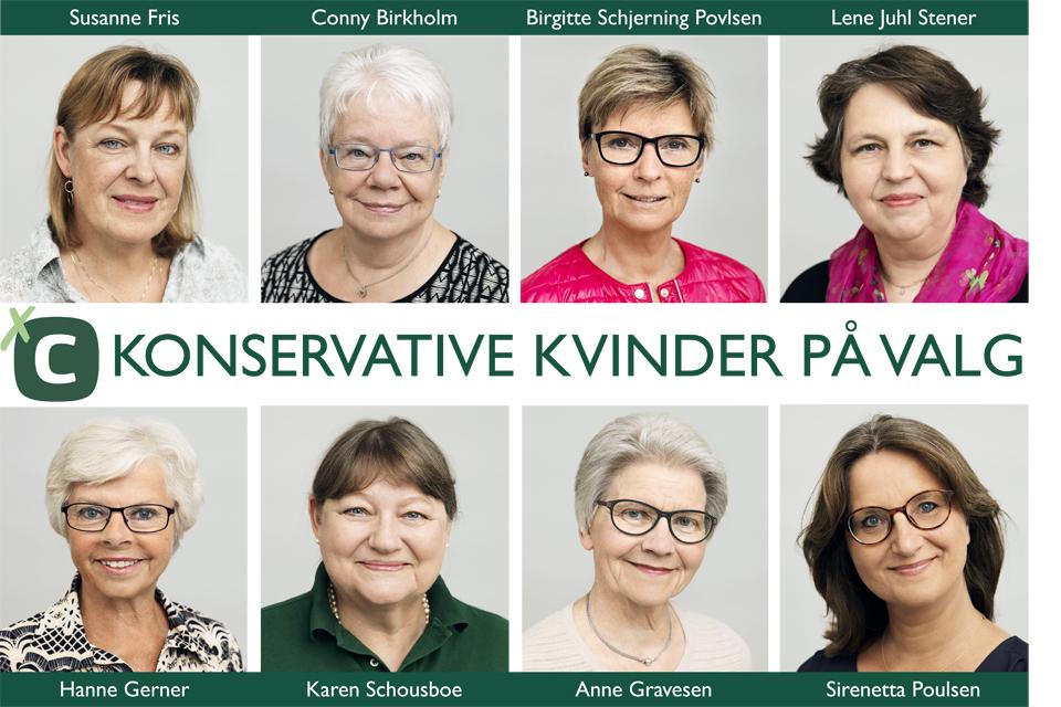 Konservative Kvinder på valg i Rudersdal KV17