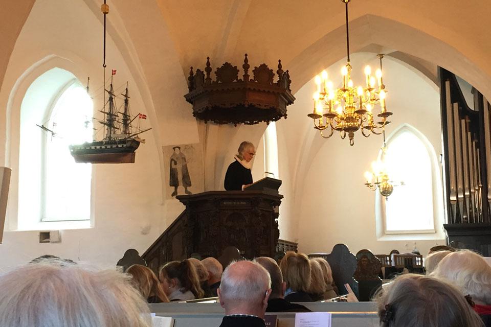 Reformantionsgudstjeneste i Søllerød Kirke 2017 © KS