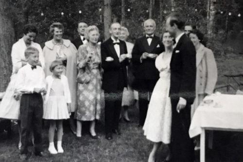 Farmor på Fyrregården i 1959