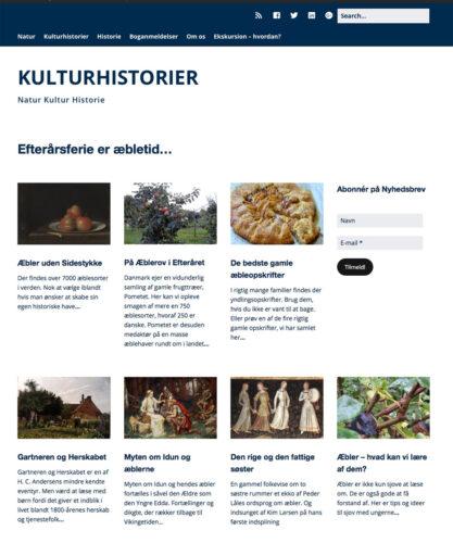 Forside kulturhistorier.dk