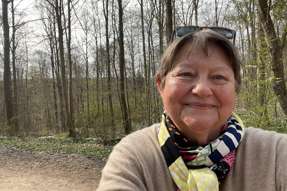 Karen Schousboe i Rude Skov 2021